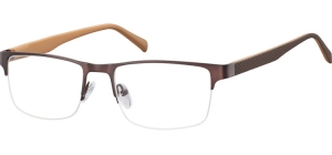 601B;;Dark brown<br><br>Stainless Steel / Matt finishing;54;18;140