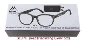 BOX70;;Matt finishing - Flex - Aspheric Lenses - including soft pouch and luxury box<br>Flex<br>Power: +1.00, +1.50, +2.00, +2.50, +3.00, +3.50;51;18;135
