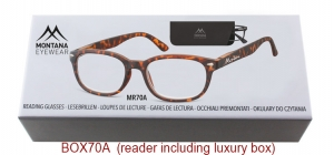 BOX70A;;Matt finishing - Flex - Aspheric Lenses - including soft pouch and luxury box<br>Flex<br>Power: +1.00, +1.50, +2.00, +2.50, +3.00, +3.50;51;18;135
