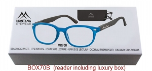 BOX70B;;Matt finishing - Flex - Aspheric Lenses - including soft pouch and luxury box<br>Flex<br>Power: +1.00, +1.50, +2.00, +2.50, +3.00, +3.50;51;18;135