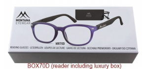 BOX70D;;Matt finishing - Flex - Aspheric Lenses - including soft pouch and luxury box<br>Flex<br>Power: +1.00, +1.50, +2.00, +2.50, +3.00, +3.50;51;18;135