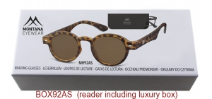BOX92AS;; Matt finishing - Aspheric Lenses - including soft pouch and luxury box  Power: +1.00, +1.50, +2.00, +2.50, +3.00, +3.50 ;44;21;150