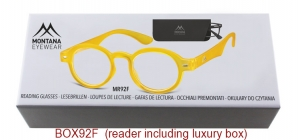 BOX92F;;<p> Matt finishing - Aspheric Lenses - including soft pouch and luxury box<br /> <br /> Power: +1.00, +1.50, +2.00, +2.50, +3.00, +3.50</p> ;44;21;150