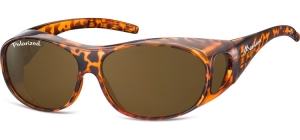 FO1A;;Shiny turtle + brown lenses<br><br>Fit overs - Flex - Polarized;62;15;135