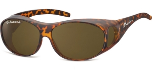 FO1C;;Matt turtle + brown lenses<br><br>Fit overs - Flex - Polarized;62;15;135
