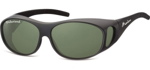 FO1F;;Matt black + G15 lenses<br><br>Fit overs - Flex - Polarized;62;15;135