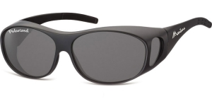 FO1G;;Matt black + smoke lenses<br><br>Fit overs - Flex - Polarized;62;15;135