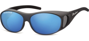 FO1H;;Matt black + Revo blue<br><br>Fit overs - Flex - Polarized - Revo lenses;62;15;135
