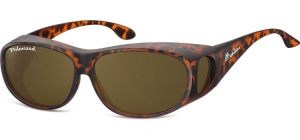 FO3C;;Matt turtle + brown lenses<br><br>Fit overs - Polarized;63;14;140