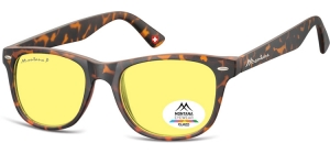 MP10YA;; Turtle + Yellow polarized high contrast lenses  Polarized - Cat. 1 Yellow polarized high contrast lenses - Rubbertouch - Case included ;53;19;147