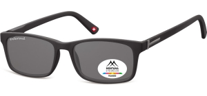 MP25;;Black + smoke lenses<br><br>Polarized - Flex - Matt finishing  - Soft Pouch Included;54;17;140