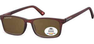 MP25C;;Brown + brown lenses<br><br>Polarized - Flex - Matt finishing  - Soft Pouch Included;54;17;140