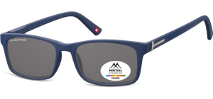 MP25D;;Blue + smoke lenses<br><br>Polarized - Flex - Matt finishing  - Soft Pouch Included;54;17;140