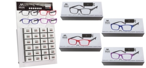 PDBOX76;; Including 24 readers boxes. Assorted BOX76 +A +B +C all strengths included. Including refillable display ;0;0;0