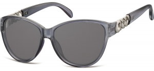 S150B;; Dark grey + smoke lenses   Soft Pouch Included ;57;17;140