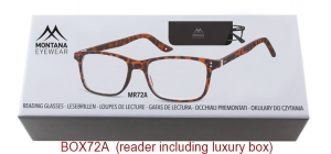 BOX72A;; Matt finishing - Aspheric Lenses - including soft pouch and luxury box  Power: +1.00, +1.50, +2.00, +2.50, +3.00, +3.50 ;50;17;140