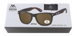BOXMP1B-XL;;Turtle + brown lenses. Including soft pouch and luxury boxPolarized - Rubbertouch - Soft Pouch Included;54;19;150