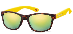 M43D;; Turtle + yellow + Revo yellow lenses  Revo Lenses - Rubbertouch - Soft Pouch Included ;56;20;147