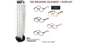 MD74READ120;; Package deal Reading glasses MD74READ120: 120 bestsellers readers including pouch and display MD74  ;1000;420;420