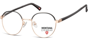 MM596A;; Pink gold + black  Stainless Steel ;49;19;142