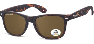 MP1B-XL;; Turtle + brown lenses  Polarized - Rubbertouch - Soft Pouch Included ;54;19;150