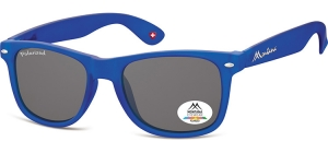 MP1D-XL;; Blue + smoke lenses  Polarized - Rubbertouch - Soft Pouch Included ;54;19;150