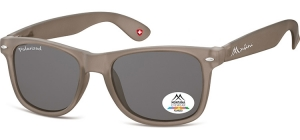 MP1F-XL;; Grey + smoke lenses   Polarized - Rubbertouch - Soft Pouch Included ;54;19;150