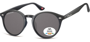 MP20;; Black + smoke lenses  Polarized - Soft Pouch Included ;51;20;150