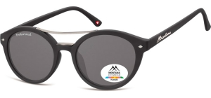MP21;;<p> Black + smoke lenses<br /> <br /> Polarized - Rubbertouch - Soft Pouch Included</p> ;50;22;140