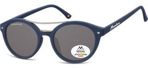 MP21D;;<p> Blue + smoke lenses<br /> <br /> Polarized - Rubbertouch - Soft Pouch Included</p> ;50;22;140
