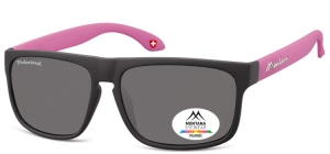 MP37C;; Black + purple  Polarized - Rubbertouch - Soft Pouch Included ;58;15;140