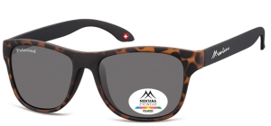 MP38A;; Turtle + black  Polarized - Rubbertouch - Soft Pouch Included ;54;17;140