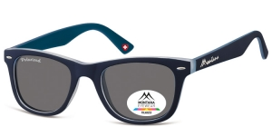 MP41F;; Navy blue  Polarized - Rubbertouch - Soft Pouch Included ;50;22;152