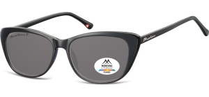 MP42;; Black + smoke lenses  Polarized - Cat. 3 - Soft Pouch Included ;54;15;141