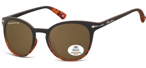 MP50B;; Black + Turtle + brown lenses  Polarized - Rubbertouch - Soft Pouch Included ;50;22;140