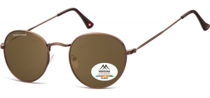 MP92F-XL;; Brown + brown lenses  Polarized - Matt finishing - Soft Pouch Included ;54;23;145