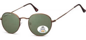 MP92G-XL;; Brown + G15 lenses  Polarized - Matt finishing - Soft Pouch Included ;54;23;145