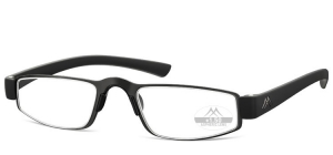 MR99;; Stainless steel - Rubber touch - Aspheric lenses - including magnetic hard case  Power: +1.00, +1.50, +2.00, +2.50, +3.00, +3.50 ;47;21;140