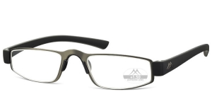 MR99B;; Stainless steel - Rubber touch - Aspheric lenses - including magnetic hard case  Power: +1.00, +1.50, +2.00, +2.50, +3.00, +3.50 ;47;21;140