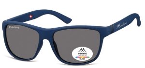 MS312A;; Blue + black  Polarized - Rubbertouch - Soft Pouch Included ;56;17;140