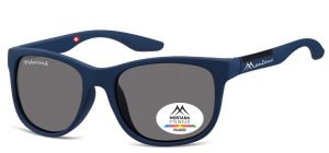 MS313B;; Blue + black  Polarized - Rubbertouch - Soft Pouch Included ;54;19;135