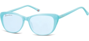 MS42;; Blue + blue lenses  Fashion Sunglasses - Cat. 1 - Soft Pouch Included ;54;15;141