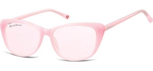 MS42B;; Pink + pink lenses  Fashion Sunglasses - Cat. 1 - Soft Pouch Included ;54;15;141