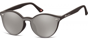 MS46A;;Black + Revo silver mirrorRevo Lenses - Matt finishing - Soft Pouch Included;55;16;145