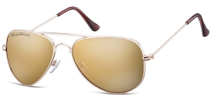 MS94B;; Gold + Revo brown   Revo Lenses - Soft Pouch Included ;57;17;140
