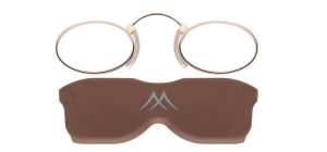 NR2A;; Nose readers - Stainless steel metal - Aspheric Lenses - including case and necklace  Power: +1.00, +1.50, +2.00, +2.50, +3.00, +3.50 ;37;21;0