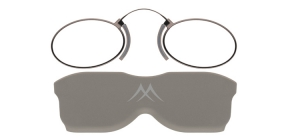 NR2B;; Nose readers - Stainless steel metal - Aspheric Lenses - including case and necklace  Power: +1.00, +1.50, +2.00, +2.50, +3.00, +3.50 ;37;21;0