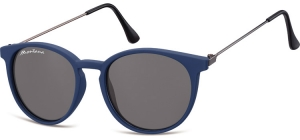 S33A;; Blue + smoke lenses  Matt finishing - Soft Pouch Included ;50;17;145