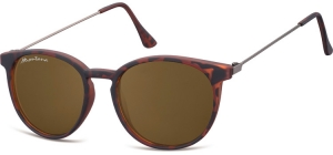 S33F;; Turtle + brown lenses  Matt finishing - Soft Pouch Included ;50;17;145