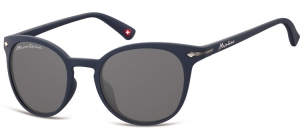 S50F;; Blue + smoke lenses  Rubbertouch - Soft Pouch Included ;50;22;140